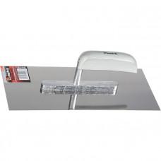 Гладилка из нержавеющей стали, 280 х 130 мм, деревянная ручка MATRIX 86733 в Алматы