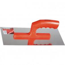 Гладилка стальная, 280 х 130 мм, зеркальная полировка, пластмассовая ручка MATRIX 86774 в Алматы