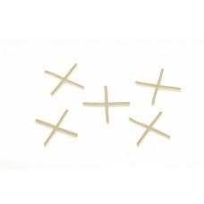 Крестики 1,5 мм, для кладки плитки, 100 шт Сибртех 88023 в Алматы