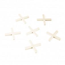 Крестики 2,5 мм, для кладки плитки, 100 шт Сибртех 88025 в Алматы