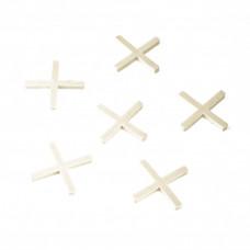 Крестики 3 мм, для кладки плитки, 100 шт Сибртех 88026 в Алматы