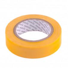 Изолента ПВХ, 15 мм х 10 м, желтая, 150 мкм. Matrix 88773 в Алматы