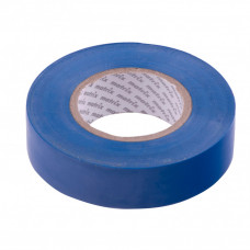 Изолента ПВХ, 19 мм х 20 м, синяя, 150 мкм. Matrix 88777 в Алматы