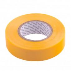 Изолента ПВХ, 19 мм х 20 м, желтая, 150 мкм. Matrix 88780 в Алматы