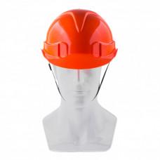 Каска защитная с храповым механизмом, ЕВРОПЛАСТ, оранжевая Россия. Сибртех 89108 в Алматы