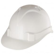 Каска защитная из ударопрочной пластмассы, белая СИБРТЕХ Россия 89114 в Алматы