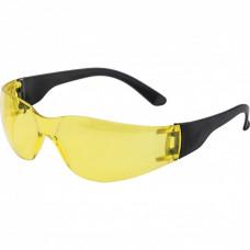 Очки защитные открытые, поликарбонатные, желтые ОЧК202 (0-13022). Россия 89172 в Алматы