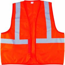 Жилет сигнальный, оранжевый, размер XL СИБРТЕХ 89513 в Алматы