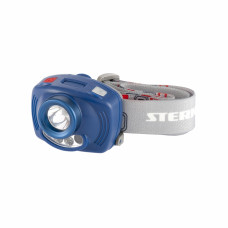 Фонарь наголовный Extreme, ABS, 3 реж, ИК сенсор, CREE XP-E LED 3Вт 120Лм+2 red, 8 ч, 3хААА Stern 90566 в Алматы