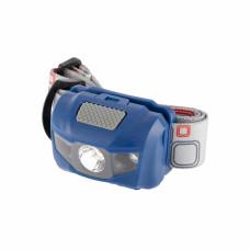 Фонарь наголовный Space, ABS пластик, 4 режима, 1 Вт LEDх120 Лм, 2 red Led, 8 часов, 3хААА Stern 90568 в Алматы