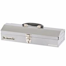 Ящик для инструмента, 410 х 154 х 95 мм, металлический MATRIX 906035 в Алматы