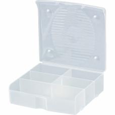Блок для мелочей, 14 x 13 см, прозрачный матовый. СИБРТЕХ 90721 в Алматы