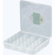 Органайзер универсальный средний, прозрачный матовый, 20 х 20 х 4,5 см. СИБРТЕХ 90727 в Алматы