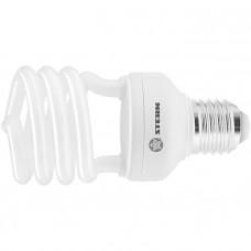 Лампа компактная люминесцентная, полуспиральная, 20W, 4100K, E27, 8000ч., Stern 90913 в Алматы