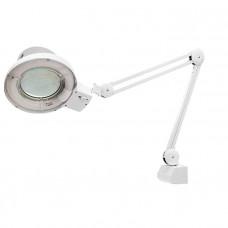 Лупа с подсветкой 3-х кратная, D 125 мм, со струбцинным креплением к столу MATRIX 913625 в Алматы