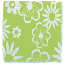 Салфетки из микрофибры с зел.цветами 300*300 мм Elfe 92307 в Алматы