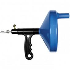 Трос для прочистки труб, L - 3,3 м, D - 6 мм, пластмассовый корпус СИБРТЕХ 92464 в Алматы