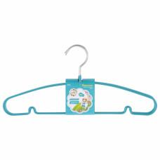Вешалка для легкой одежды с прорезиненным противоскользящим покрытием 40 см, 5шт. в комплекте ELFE 92927 в Алматы