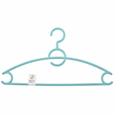 Вешалка пластиковая для верхней одежды, цветная 43 см. ELFE 92931 в Алматы