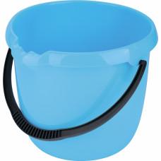 Ведро пластмассовое круглое 12л, голубое ТМ Elfe Россия 92956 в Алматы
