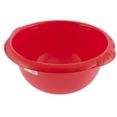 Таз пластмассовый круглый 9л красный ТМ Elfe Россия 92982 в Алматы