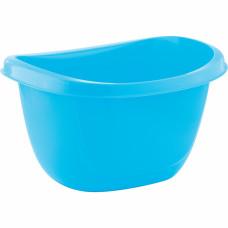 Таз пластмассовый овальный 16л, голубой ТМ Elfe light Россия 92988 в Алматы