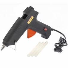 Клеевой пистолет с выкл. 12 мм в кейсе, 80 Вт, 6 г./мин. // SPARTA 93033 в Алматы
