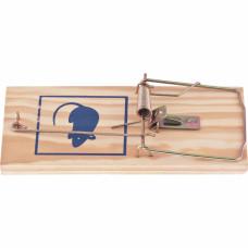 Крысоловка деревянная, 175*83*10 мм, усиленная // СИБРТЕХ 93929 в Алматы