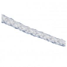 Шнур вязаный полипр. с серд. белый, 4 мм, L20 м, 60-70 кгс СИБРТЕХ Россия 93957 в Алматы