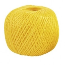 Шпагат полипропиленовый желтый, 110 м, 1200 текс СИБРТЕХ Россия 93978 в Алматы