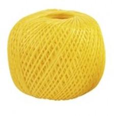 Шпагат полипропиленовый желтый, 60м 800 текс СИБРТЕХ Россия 93986 в Алматы