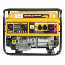 Генератор бензиновый GE 6900, 5,5 кВт, 220В/50Гц, 25 л, ручной старт DENZEL 94637 в Алматы