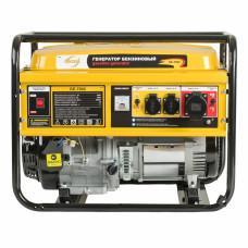 Генератор бензиновый GE 7900, 6,5 кВт, 220В/50Гц, 25 л, ручной старт DENZEL 94638 в Алматы