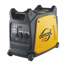 Генератор инверторный GT-2600i, X-Pro 2,6 кВт, 220В, цифровое табло, бак 7,5 л, ручной старт DENZEL 94643 в Алматы