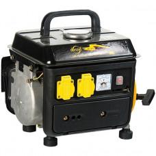 Генератор бензиновый DB950, 0,85 кВт, 220В/50Гц, 4 л, ручн. пуск DENZEL 94650 в Алматы