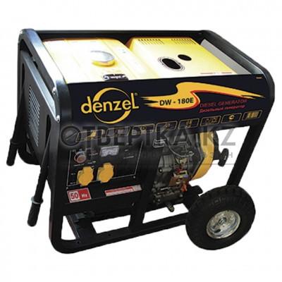 Дизельная сварочная генераторная установка DW180Е DENZEL 94664