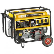 Генератор бензиновый GE 6900E, 5,5 кВт, 220В/50Гц, 25 л, электростартер DENZEL 94684 в Алматы
