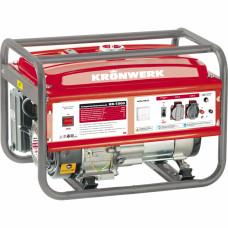 Генератор бензиновый KB 5000, 5,0 кВт, 220В/50Гц, 25 л, ручной старт KRONWERK 94693 в Алматы