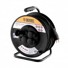 Удлинитель силовой Denzel 95990