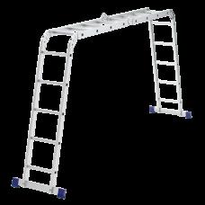 Лестница шарнирная алюминиевая, 2х4+2х5 Сибртех Россия 97884 в Алматы
