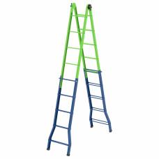 Лестница-трансформер, 148 см.-44 см. / 220 см-448 см. Сибртех Россия 97892 в Алматы