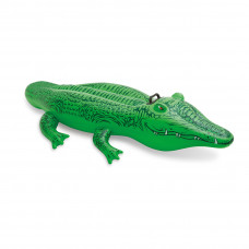 Надувная игрушка Intex 58546NP в форме крокодила для плавания в Алматы