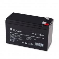 Аккумуляторная батарея IPower IPL-7.5-12 12В 7.5 Ач в Алматы