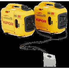 Прибор для параллельного подключения двух генераторов KIPOR Parallel connection box