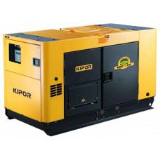 Дизельный генератор в ультратихом кожухе KIPOR KDE25SS+KPEC40100DP52A в Алматы