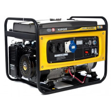 Бензиновый генератор KIPOR KGE6500E (5.0кВт)