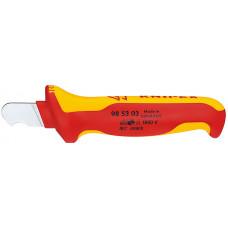 Нож KNIPEX для удаления оболочки круглого кабеля 98 53 03 в Алматы