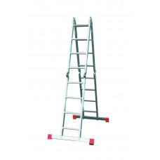 Универсальная шарнирная лестница с перекладинами KRAUSE MONTO MULTIMATIC 120649
