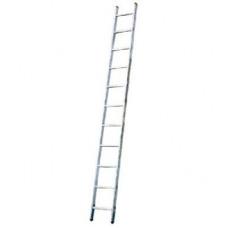 Алюминиевая приставная лестница 9 Corda Н=2,55/3,45м