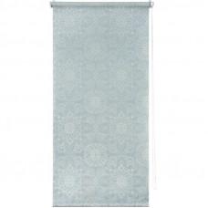 Штора рулонная «Мандала» 40х160 см, цвет голубой в Алматы